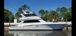 1997 Viking 72 Enclosed Bridge