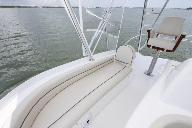 2020 Viking 52 Convertible - Deck 5 - Helm Deck Seating