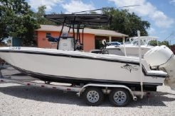 2012 Ocean Runner 24 Center Console with twin O/B