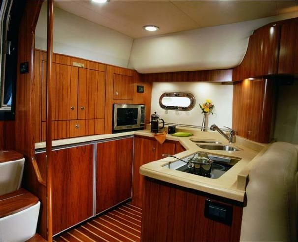 2006 Tiara 4400 Sovran - Manufacturer Provided Image: Galley