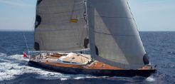 1991 Sailboat Gilles Vaton Trehard 82