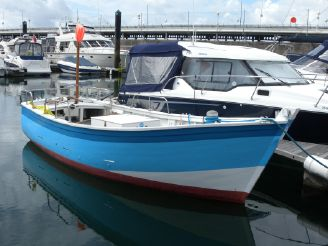 1980 Traditional Breton Fishing Boat