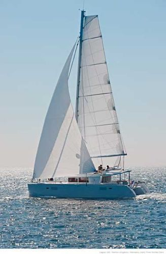 2017 Lagoon 450 F - Manufacturer Provided Image: Lagoon 450 Sailing