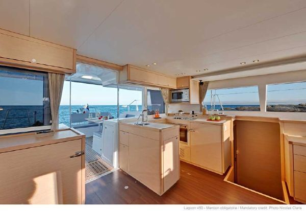 2017 Lagoon 450 F - Manufacturer Provided Image: Lagoon 450 Galley