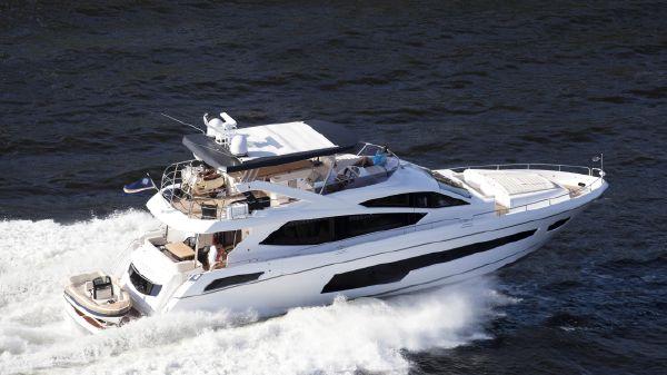 Sunseeker 75 Yacht Manufacturer Provided Image: Sunseeker 75 Yacht