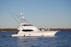 2007 Hatteras 68 Enclosed Bridge CV