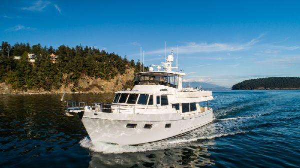 Ocean Alexander 60 LRC - Trawler Profile Makarios