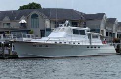 1982 Huckins Motor Yacht