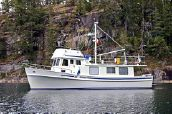photo of 40' Pacific Trawler Custom Blue Funnel