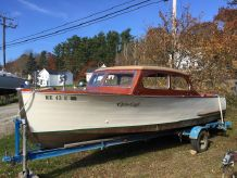 1940 Chris-Craft De Luxe Utility Boat