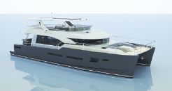 2021 Motor Yacht Power Catamaran H70