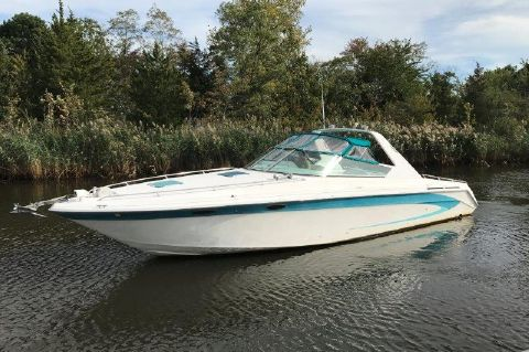 1995 Sea Ray 380 Sun Sport - Profile
