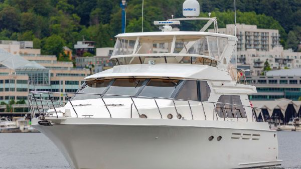 Ocean Alexander 58 Pilothouse 58' OA Pilothouse coming home