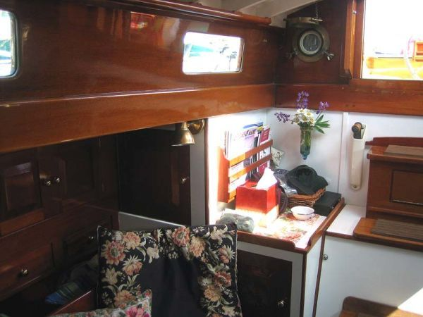 Starboard Aft Corner of Main Saloon