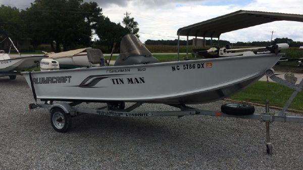 Alumacraft Fisherman 160cs