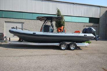2021 Zodiac Custom Pro 850 Optimum Twin 250hp In Stock