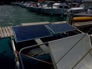 '03 Gemini 105MC solar panels
