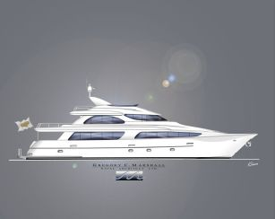 2020 Sonship Built By West Bay Shipyards Skylounge Tri-Deck 110