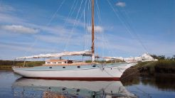 "1958 Crocker 36 Gaff Rigged ""Presto"" Sloop"