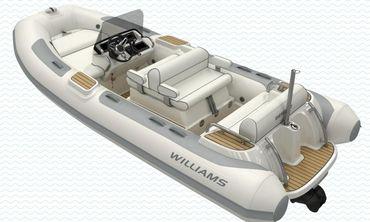 2020 Williams Jet Tenders Dieseljet 445