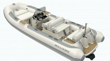 2020 Williams Jet Tenders Dieseljet 505