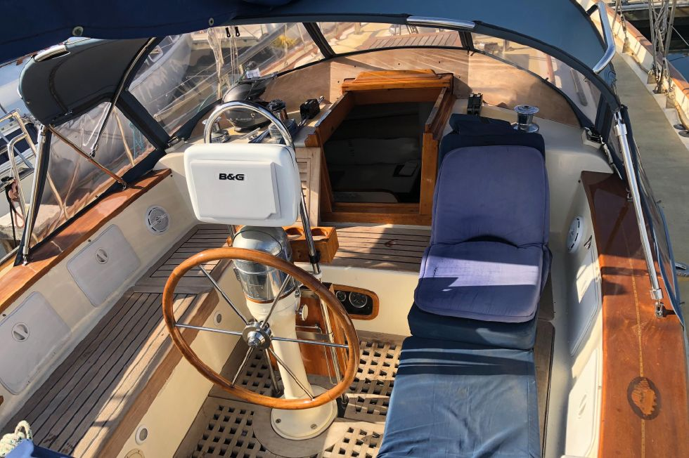 1978 Kelly Peterson Center cockpit