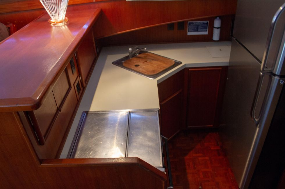 Galley From Side