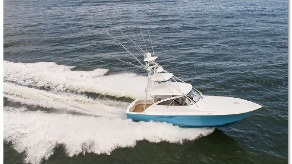 Viking Yachts 44 Open Running Shot