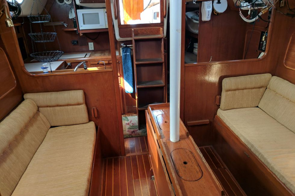 1984 Westerly Sealord 39 - Looking Aft