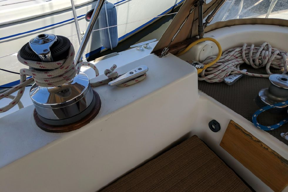 1984 Westerly Sealord 39 - Electric Winches
