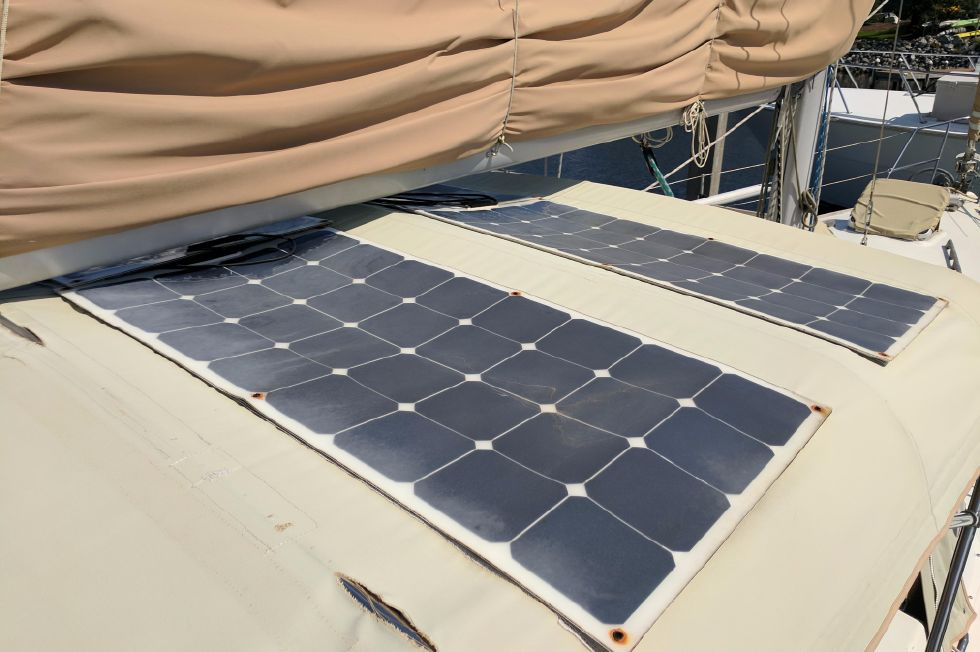 1984 Westerly Sealord 39 - Solar Panel
