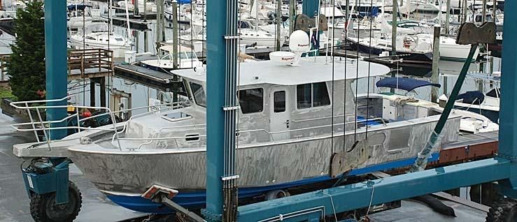 2009 Hunt Yachts 35 Cust Alum Sportfish/Cruiser 35 Boats for Sale - Yachting Solutions