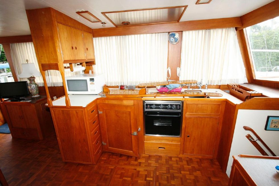 1980 Grand Banks 49 Classic - Galley