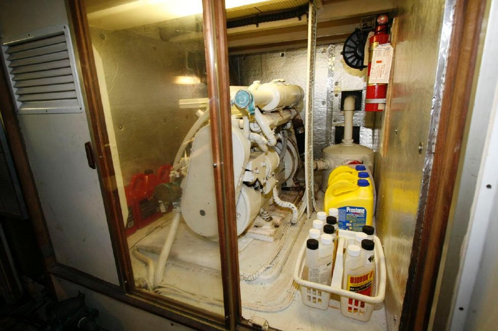 Insulated Generator Room