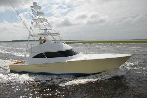 2013 Viking 55 Convertible - Profile