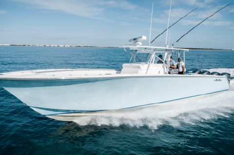 2015 SeaHunter 45 - Port Profile