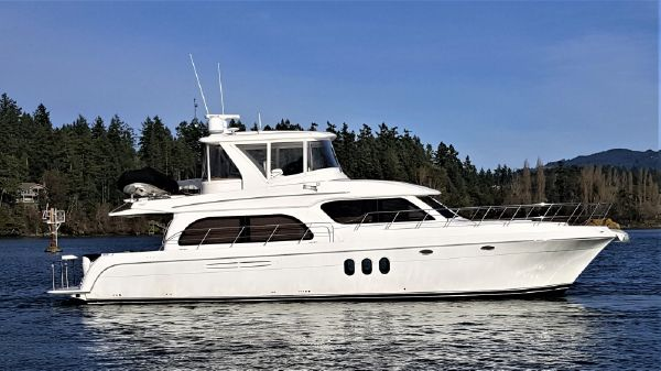 Navigator 55 Pilothouse Lady Phoenix with Hardtop, Enclosure & Dinghy
