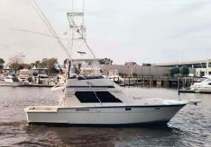 1989 Hatteras 41 Convertible