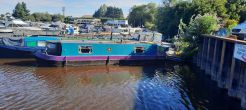 1992 Custom 32 ft Cruiser Stern Narrowboat