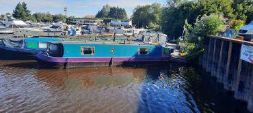 1992 Custom 32 ft Cruiser Stern Narrowboat