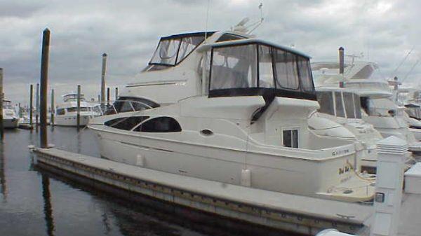 Carver 41 Cockpit Motor Yacht Port Side