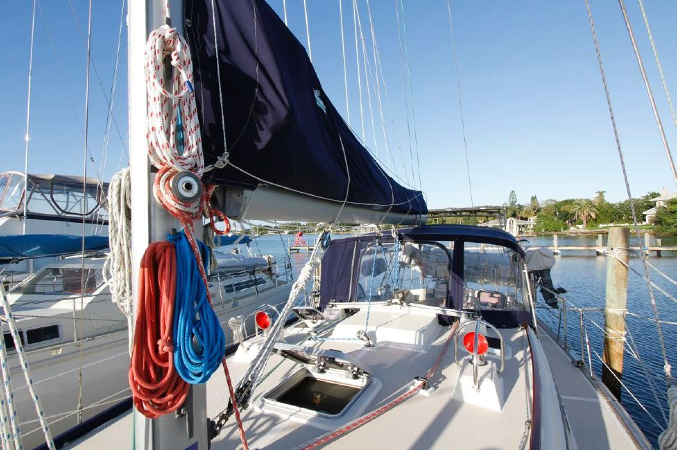 1998 Island Packet 40 - Island Packet 40 Running Rigging