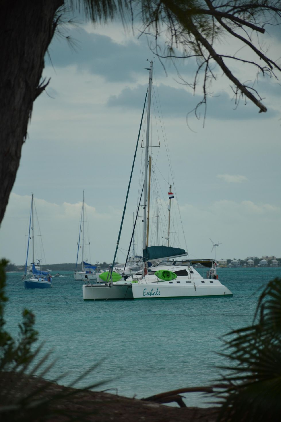 1999 Island Spirit 37 Catamaran - Exhale