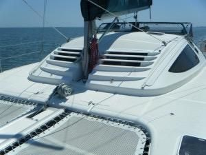 1999 Island Spirit 37 Catamaran - Cabin house