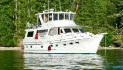 1983 Angel 58 raised pilothouse