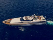 1986 Baglietto 36m REMARKABLE CHARTER RECORD