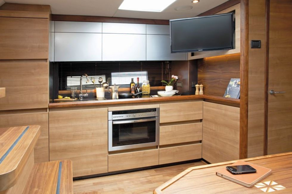 Manufacturer Provided Image: Sealine International SC42 Galley