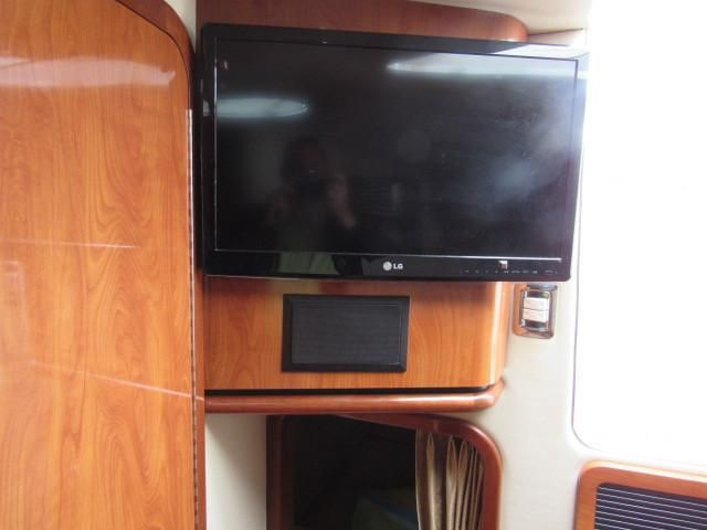 2004 Fountain 48 Express Cruiser - Master Stateroom 2 - TV