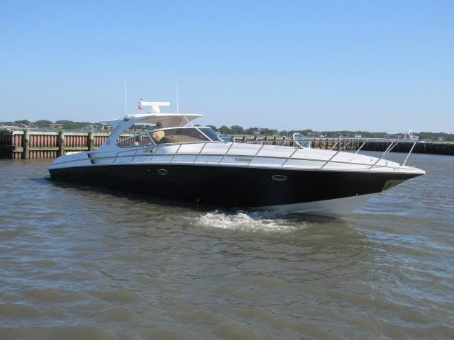 2004 Fountain 48 Express Cruiser - Profile 2