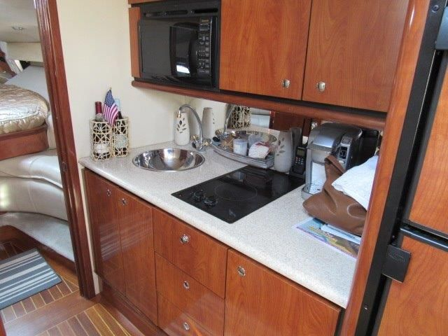 2004 Fountain 48 Express Cruiser - Galley 1